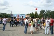 На сцене Москомспорта прошла очень зрелищная спортивно-развлекательная программа.
